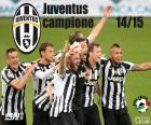 Juventus kampioen 2014-20015