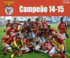 Benfica, kampioen 2014-2015