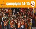 Galatasaray, kampioen 14-15