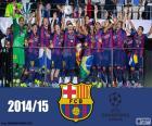 FC Barcelona kampioen Champions League 14-15