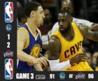 2015 NBA de finale, spel 3