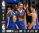 2015 NBA de finale, spel 4