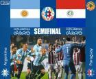 Halve Finale Copa America Chili 2015, Argentinië vs Paraguay