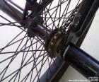 BMX achterwiel