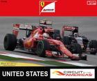 Vettel, Grand Prix van de Verenigde Staten 2015