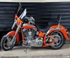 Harley Davidson Oranje