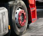 Wiel vrachtwagen