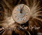 In de klok zijn al verstreken middernacht, happy new year voor iedereen!