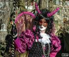 Carnaval jurk roze