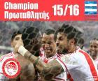 Olympiakos FC kampioen 2015-2016