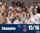 PSG kampioen 2015-2016