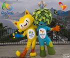 Vinicius en Tom zijn de mascottes van de Olympische en Paralympische spelen Rio 2016