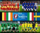 Groep E voor Euro 2016 wordt gevormd door selecties uit België, Italië, Ierland en Zweden
