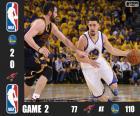 2016 NBA de finale, spel 2