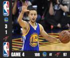 2016 NBA de finale, spel 4