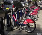 Boris Bikes, Londen