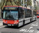 Barcelona's stedelijke bus