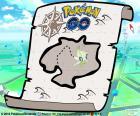 Kaart van Pokémon GO