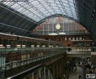 St Pancras railway station, Londen