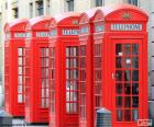 Londen telefooncellen