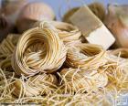 Italiaanse pasta, spaghetti
