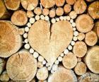 Slurf in vorm van hart