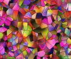 Veelhoeken van kleuren