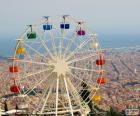 Wiel van de Tibidabo, Barcelona