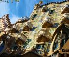 puzzel Casa Batlló, Barcelona