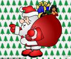 Santa Claus, tekening