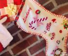 Kerst sokken en cadeau