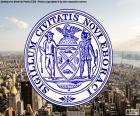 Zegel van New York City
