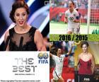 De beste VOETBAL vrouwen speler 2016