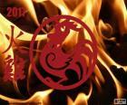 Chinese jaar van de Vuur Haan 2017