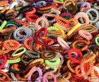 Armbanden van kleuren