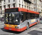 Rome stedelijke bus