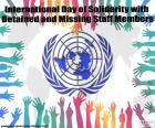 Internationale dag van solidariteit met die worden vastgehouden en ontbrekende medewerkers