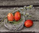 Een nest van Pasen