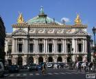 Opéra Garnier, gevel