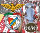 Benfica, kampioen 2016-2017