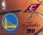 2017 NBA de finale. Golden State Warriors vs Cleveland Cavaliers, de dezelfde finalisten van de twee vorige seizoenen