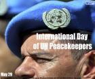 Internationale dag van de Verenigde Naties Vredeshandhavers