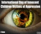Internationale Dag voor Kinderen die Slachtoffer zijn van Agressie