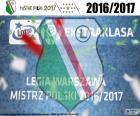 Legia, kampioen 2016-2017
