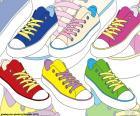 Gekleurde sportschoenen