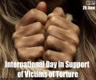 Internationale dag voor slachtoffers van foltering