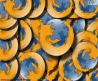 Logo van Mozilla Firefox, een gratis webbrowser ontwikkeld voor Linux, Android, IOS OS X en Microsoft Windows