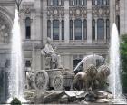 Fontein van Cibeles, Madrid
