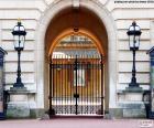 Ingang van Buckingham Palace