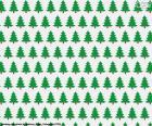Kerst bomen papier